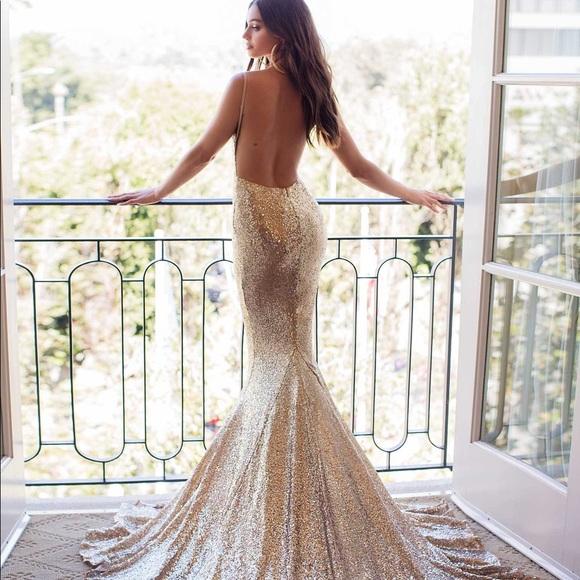 f8da207e0eb2 alamour the label Dresses   Yassmine Luxe Gown   Poshmark